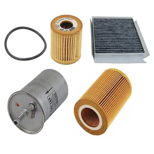 For Smart ForTwo Diesel OM660 2005-2007 Air Cabin Fuel Oil Filter Tune Up KIT