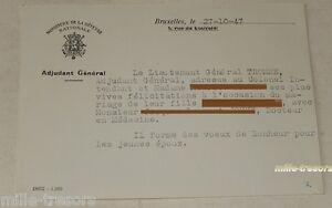 CARTE-de-CORRESPONDANCE-du-Lieutenant-General-pour-felicitations-MARIAGE-1947