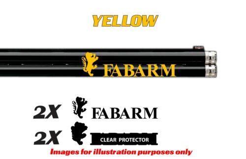 Adesivo decalcomania in vinile Fabarm per Fucile//Fucile//Custodia//pistola al sicuro//Auto//FA1