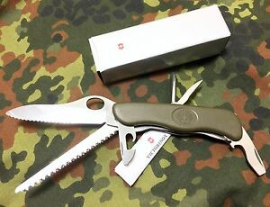 The Original Victorinox German Army Knife One Hand Trekker