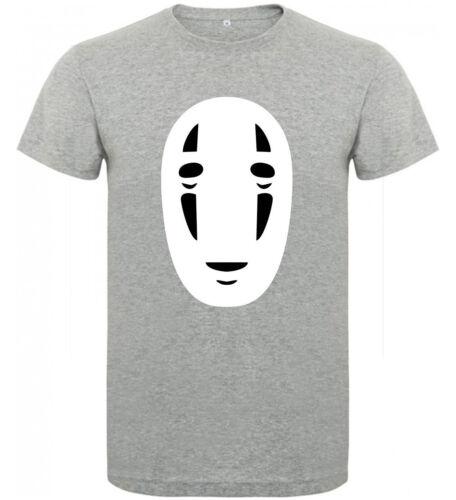 Camiseta Viaje de Chihiro Sin Cara Ghibli Hombre varias tallas y colores a065