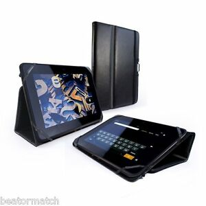 Tuff-Luv Kindle Fire Nook 7 HD Type View Case Faux Leather ...