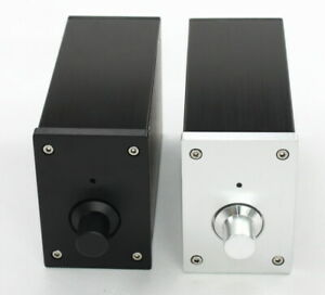 Full-aluminum-power-amplifier-enclosure-desktop-chassis-AMP-box-160-100-70mm