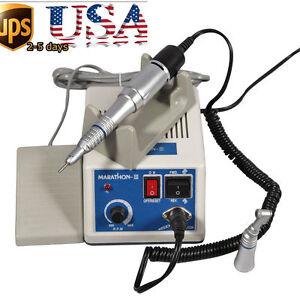 Dental-Lab-Marathon-Micro-Motor-35K-rpm-N3-Straight-Handpiece-Contra-Angle-B