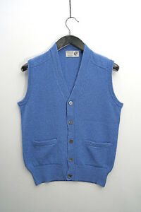Mens V bluette collo 100 a con di Waiscoat lana cervo nfRpqC