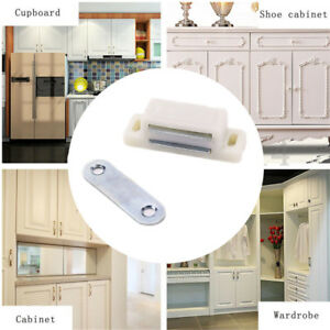 20x-Secure-Magnetic-Door-Drawer-Cabinet-Latch-Catch-Touch-Kitchen-Cupboard-Latch