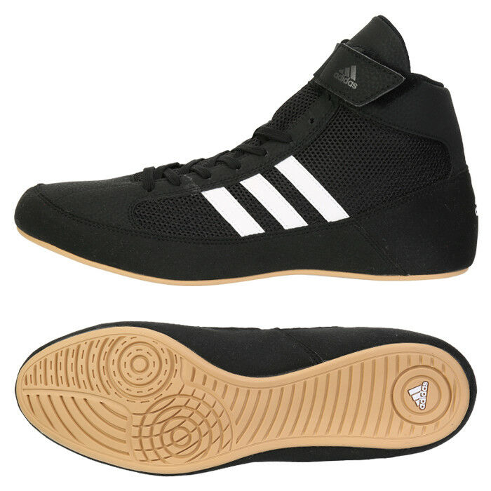 Adidas HVC Wrestling shoes (AQ3325) Boxer Ring Sparring Boxing Boots   cheap and high quality