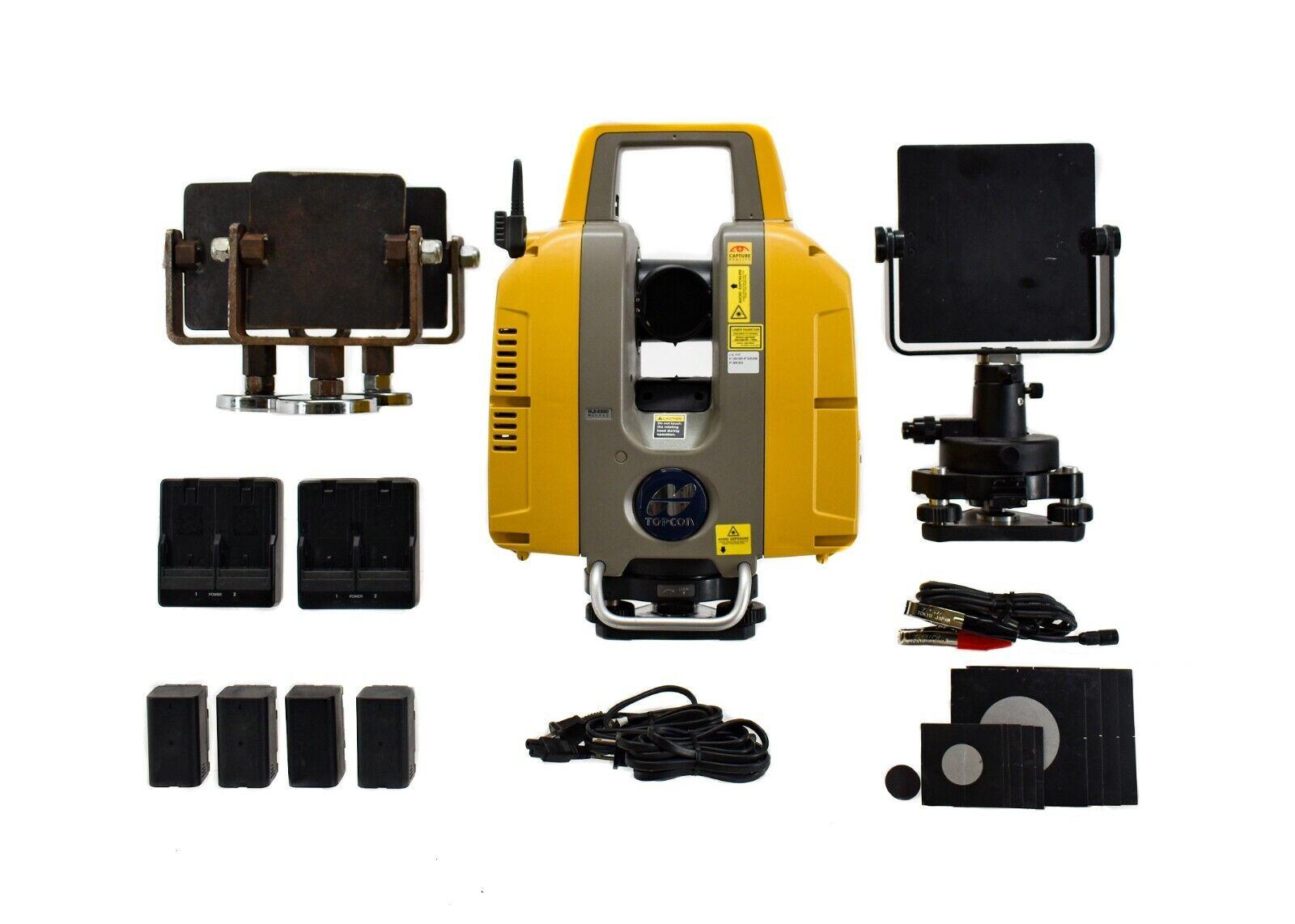 Topcon GLS-2000L 3D Laser Scanner and Targets