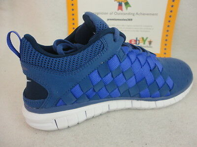 buy online f0fd9 fab0d Nike Free OG '14 Woven, Blue Legend / Persian Violet / Midnight Navy, Sz 12  | eBay