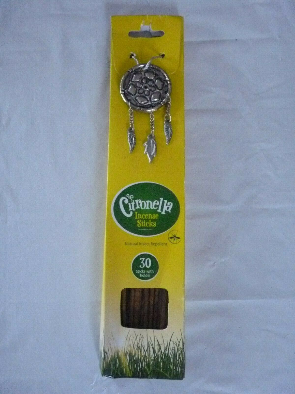 Incense Sticks with Holder Natural Insect Repellent Garden