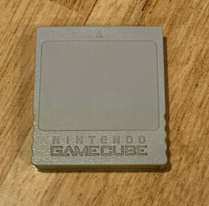 DOL-008 Official OEM Nintendo GameCube Memory Card 59 Gray