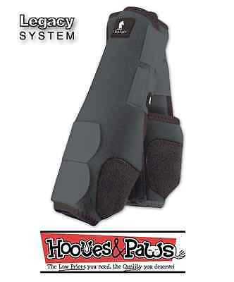 Steel Grey Horse Classic equine legacy Gray SMB Sport medicine boots Support