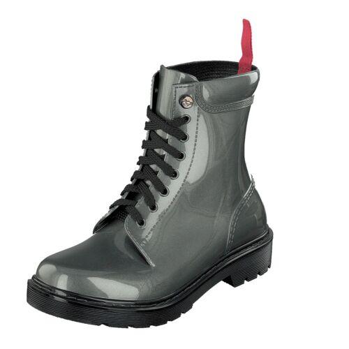 Grosch Shoes Sylt Femmes Bottes en caoutchouc Boots 71051-300-900 gris étanche NEUF