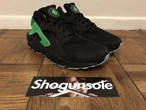 new product aa320 66ecd Nike Air Huarache Run FB DS US Sz 12.5 Black/Poison Green 705070-001 ...