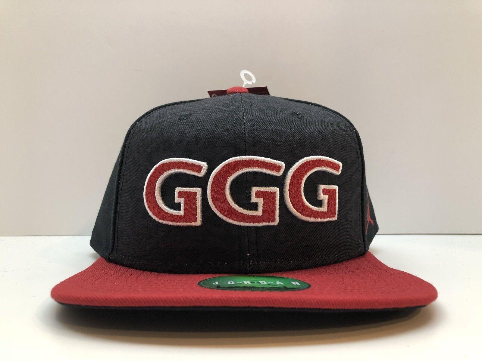 Nike X Jordan GGG Triple G Gennady Golovkin Snapback Hat Limited ... 23d61d92840a