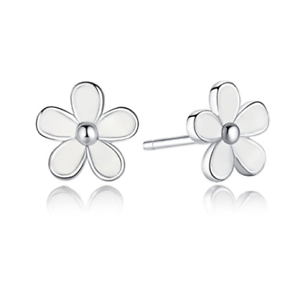 6a377eda1 925 Sterling Silver Daisy Stud Earrings 3139834802003 | eBay