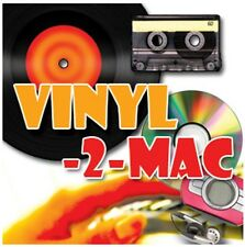 Transfer Copy Convert LPs Cassettes Tapes and MD Minidisc  to Mac OSX, MP3 & CD.