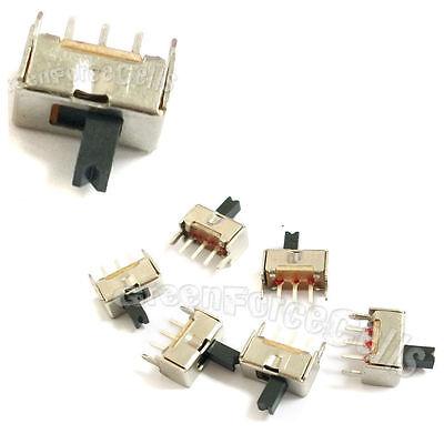 40x 3 Pin SS12D00G3 2 Position SPDT 1P2T PCB Panel Mini Vertical Slide SwitcR SM