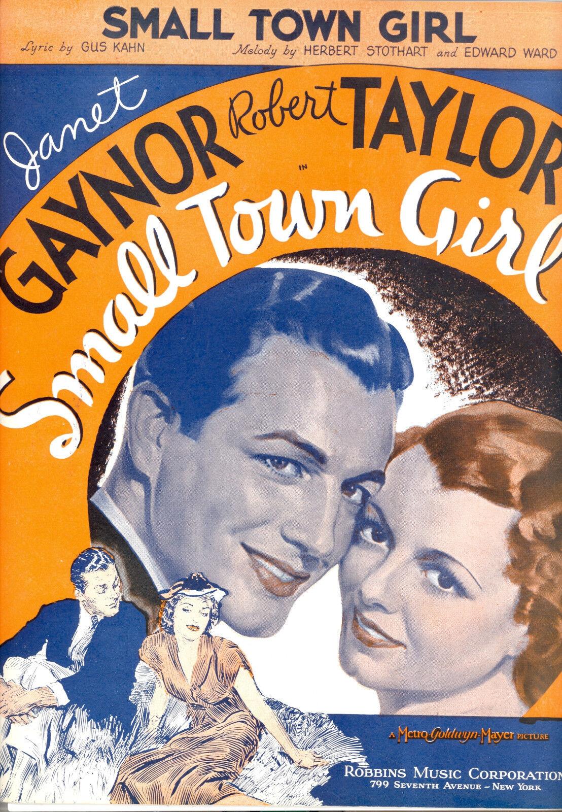 Small Town Girl Carpeta Lámina Lámina Lámina  Small Town Girl  Robert Taylor Janet c02b96