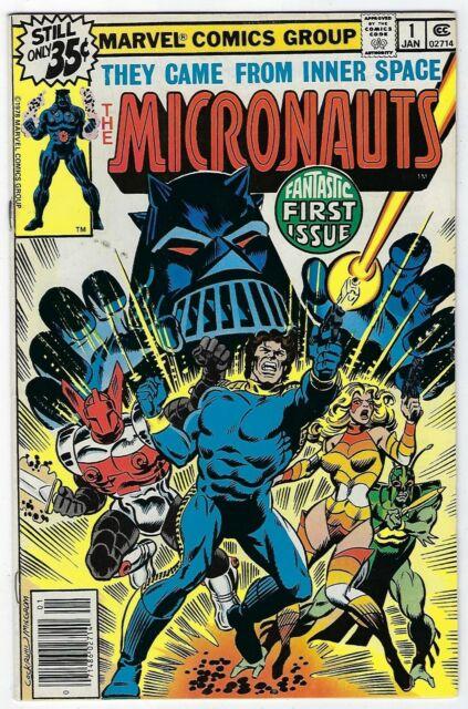 Micronauts # 1 VF+ Marvel 1978 1st Appearance Of The Micronauts