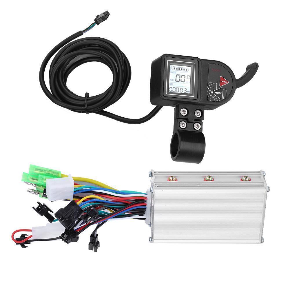 24V 36V 48V 250W 350W Brushless Motor Controller  LCD Panel für E-Bike E-Scooter  save up to 30-50% off