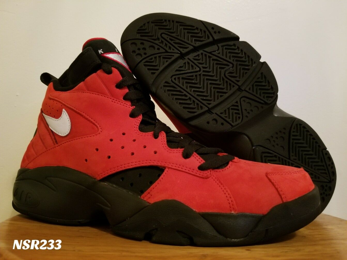 KITH X X X NIKE AIR MAESTRO II HIGH rosso PIPPEN NKAH1069 600 SZ 9-9.5 READY TO SHIP e7d0d2