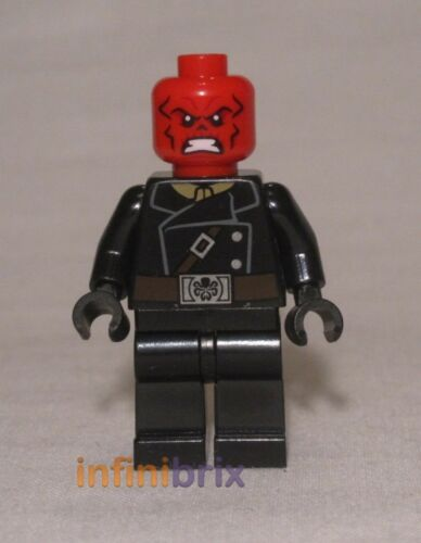 Lego Red Skull Minifigure from Set 76017 Avengers Super Heroes NEW sh107