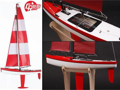 Amabile 21009 Graupner Rc Radiocomandato Grande Barca A Vela Gr-65 Rg 65 Yacht Rrp £ 287-mostra Il Titolo Originale