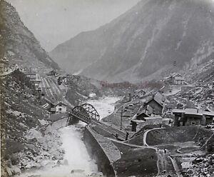 Suisse-Reuss-Foto-PL53L7n4-Stereo-Placca-Lente-1908