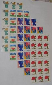 Special-NEW-5-Different-Booklets-18-each-Assorted-Mixed-Designs-of-29-Stamps