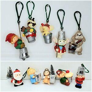 Vintage Lot of 10 Hallmark Thimble Series Christmas Tree ...