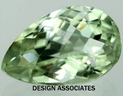 GREEN AMETHYST 16 x 12 MM PEAR CUT AAA ALL NATURAL