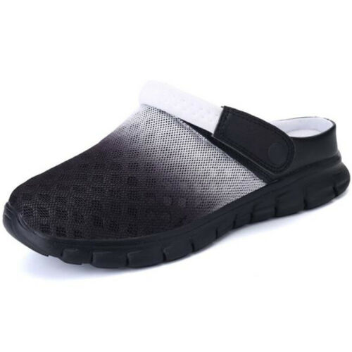 Men Clogs Slip On Shoes Gardening Water Sandals Slipper Beach Walking Flip Flops