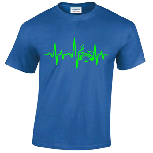 KIDS MUSICIAN EKG ECG T-SHIRT GUITAR PLAYER MUSIC FENDER DRUMMER CHILDRENS BAND