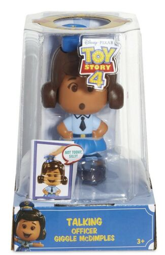 NEW Disney//Pixar Officer Giggle McDimples Talking Figure Toy Story 4