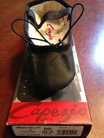 Black Capezio Teknik Ballet Shoe - Whole Or Half Sizes 10.5c - 6c