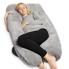 Shaped Full Body Pillow Gray Cover 100