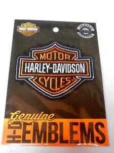 Harley-Davidson-Bar-amp-Shield-B-amp-S-Aufnaeher-Patch-Emblem-HDEMF1009