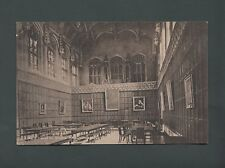 King's College Dining Hall postcard 1908,used, G.M.Swainson, Mrs Blood  st46