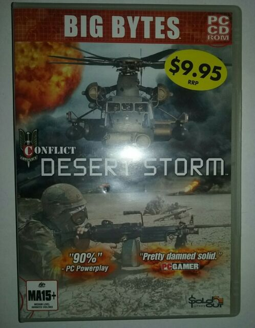PC CD. Conflict Desert Storm.
