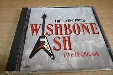 WISHBONE ASH - LIVE IN CHICAGO - 1998 CD - SILLY CHEAP!