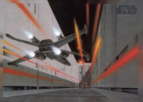 Star Wars 40th Anniversary Base Card #199 The Trench Run