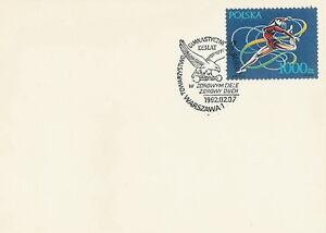 Poland postmark WARSZAWA - sport gymnastics SOKOL - Bystra Slaska, Polska - Poland postmark WARSZAWA - sport gymnastics SOKOL - Bystra Slaska, Polska