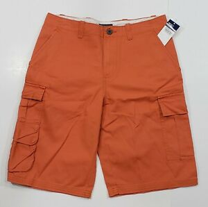 New-with-tag-Boys-RALPH-LAUREN-Tomato-Orange-POLO-Carpenter-RL-67-Shorts-16-20