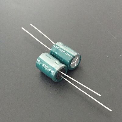 20pcs 470uF 16V 470UF JAMICON MZ 8x11mm Low impedance capacitor