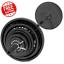 300-lbs-CAST-IRON-OLYMPIC-WEIGHT-SET-7-ft-Bar-Grip-Plates-Lifting-Collars-Gym thumbnail 1