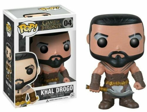 Funko POP GOT Khal Drogo Game of Thrones HBO Jason Momoa