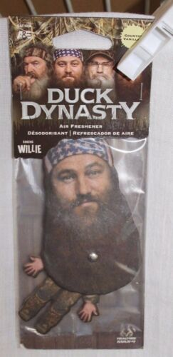 NWT DUCK DYNASTY WILLIE HANGING COUNTRY VANILLA AIR FRESHER