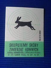 10. Vintage Label with of matches - Etykiety z zapalek