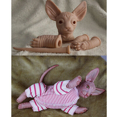 MagiDeal Soft Sillicone Reborn Kits Realistic  Cat Limb Doll Mold DIY